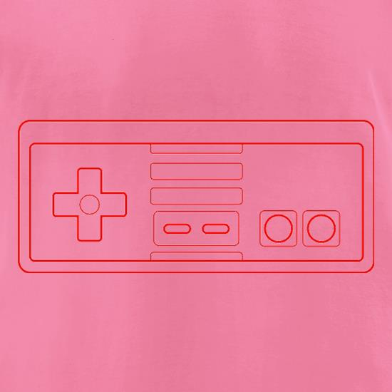 NES Joypad t-shirts for ladies