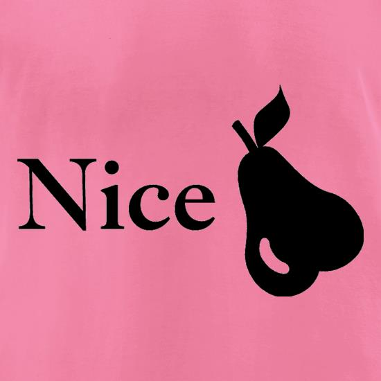 Nice Pear t-shirts for ladies