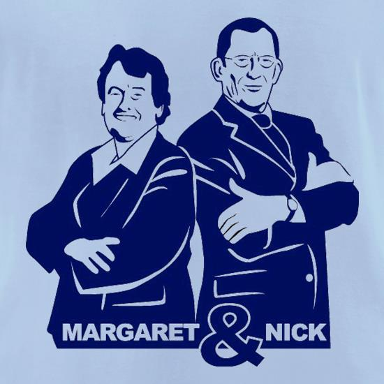Nick & Margaret t-shirts for ladies