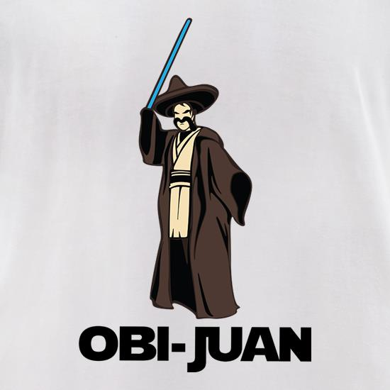 Obi-Juan t-shirts for ladies