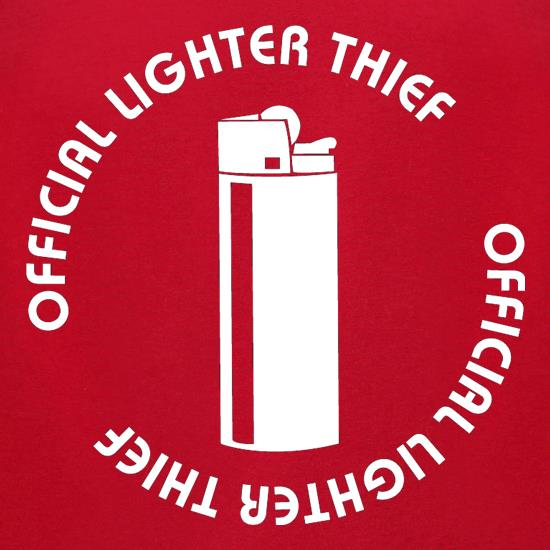 Official Lighter Thief t-shirts for ladies