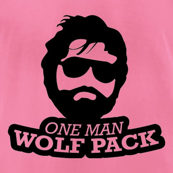 One Man Wolf Pack t-shirts for ladies