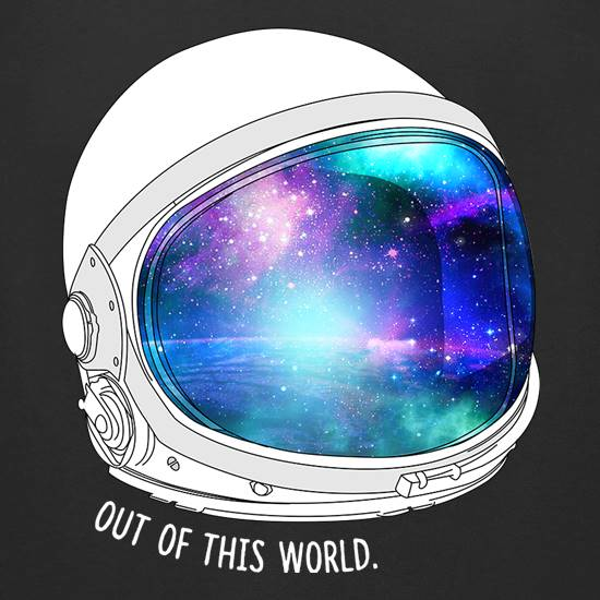 Out Of This World t-shirts for ladies