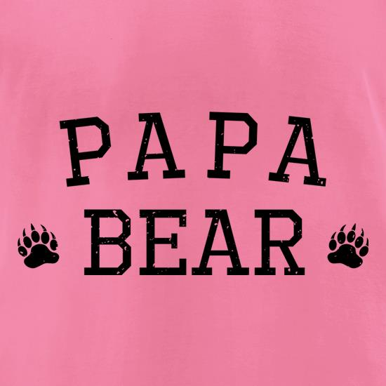 Papa Bear Paws t-shirts for ladies