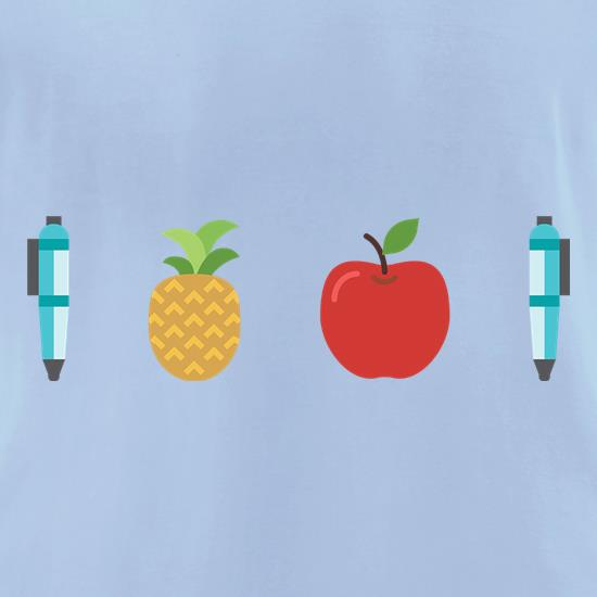 Pen Pineapple Apple Pen t-shirts for ladies