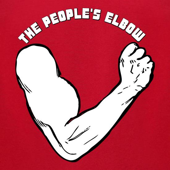 People's Elbow t-shirts for ladies