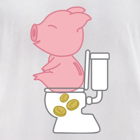 Piggy Bank t-shirts for ladies