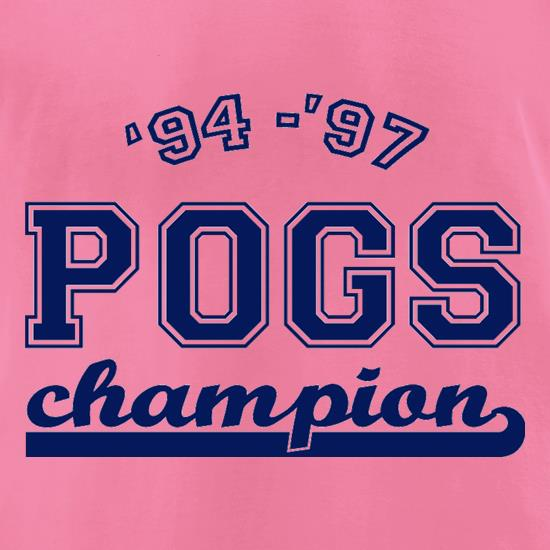 '94 - '97 Pogs Champion t-shirts for ladies