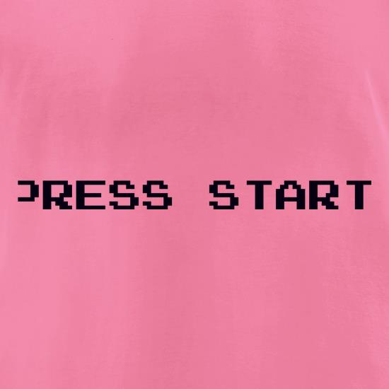Press Start t-shirts for ladies