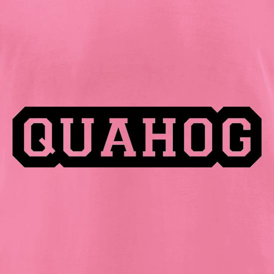 Quahog t-shirts for ladies