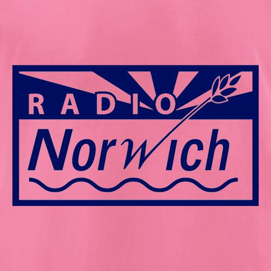 Radio Norwich t-shirts for ladies