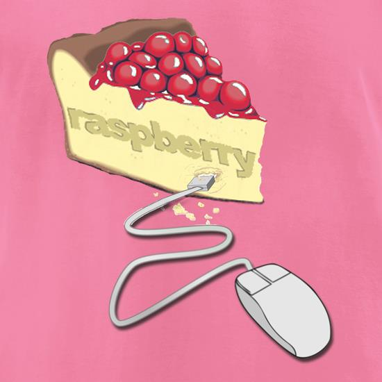 Raspberry Pie t-shirts for ladies