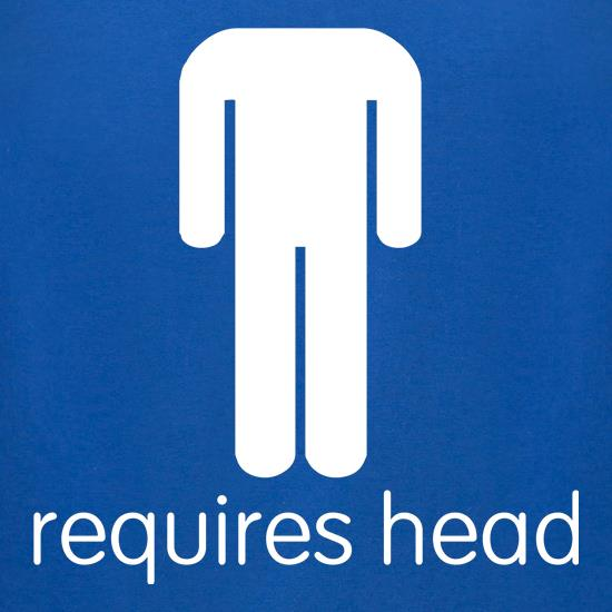 Requires Head t-shirts for ladies