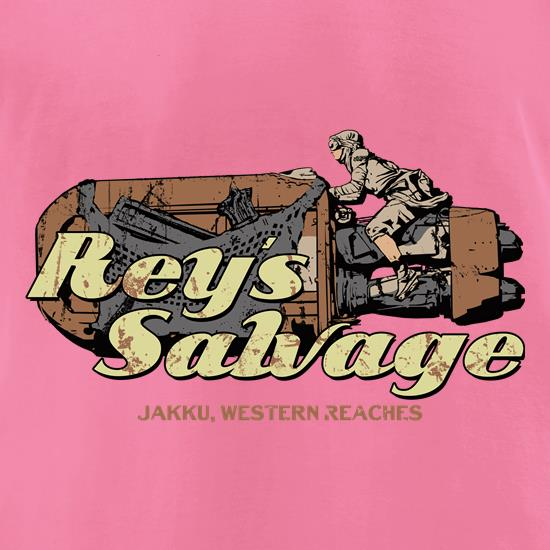 Reys Salvage t-shirts for ladies