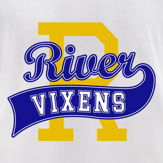 River Vixens t-shirts for ladies