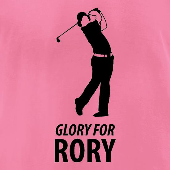 Rory McIlroy - Glory For Rory t-shirts for ladies