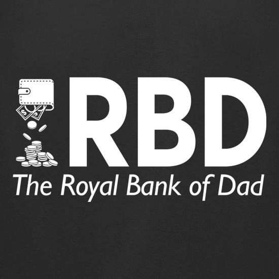 Royal Bank of Dad t-shirts for ladies