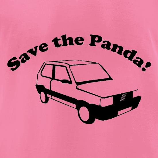 Save The Panda t-shirts for ladies
