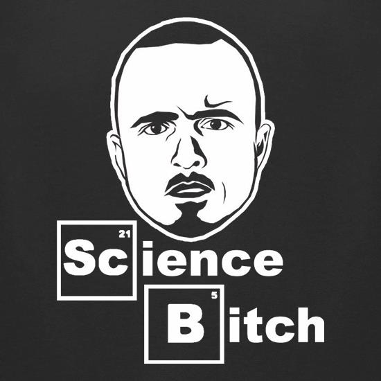 Science Bitch t-shirts for ladies