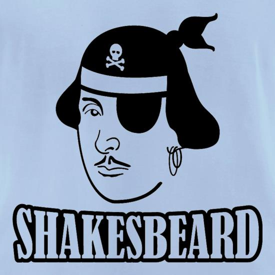 Shakesbeard t-shirts for ladies