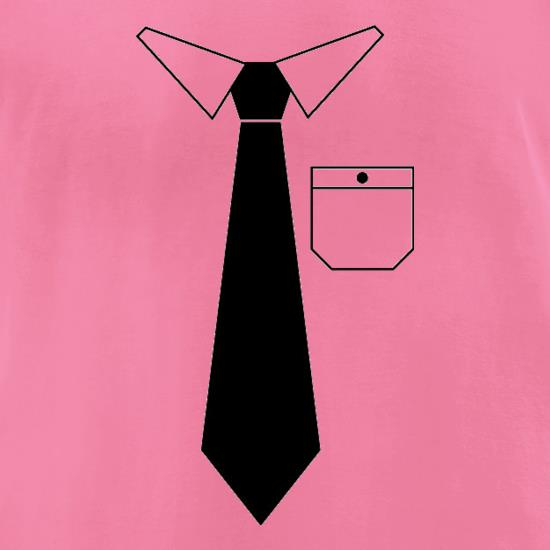 Shirt & Tie t-shirts for ladies