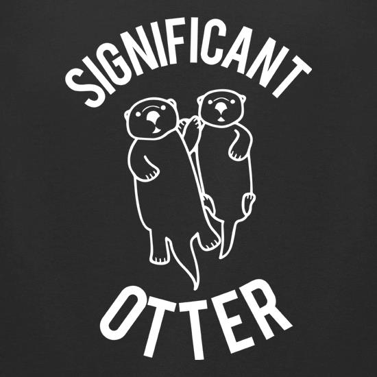 Significant Otter t-shirts for ladies