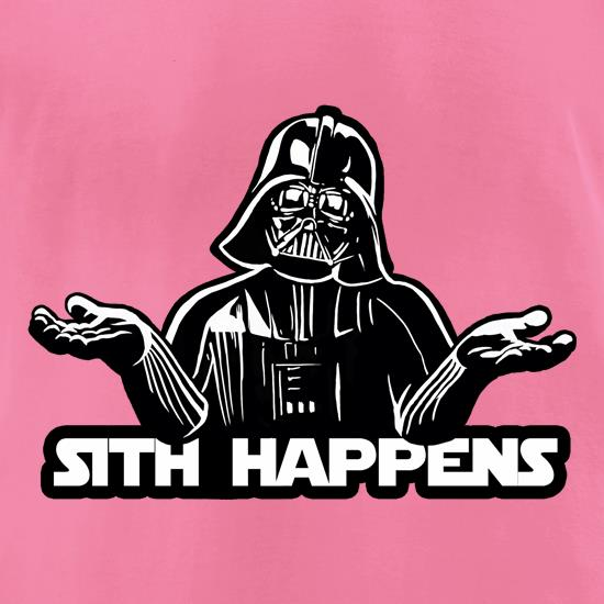 Sith Happens t-shirts for ladies