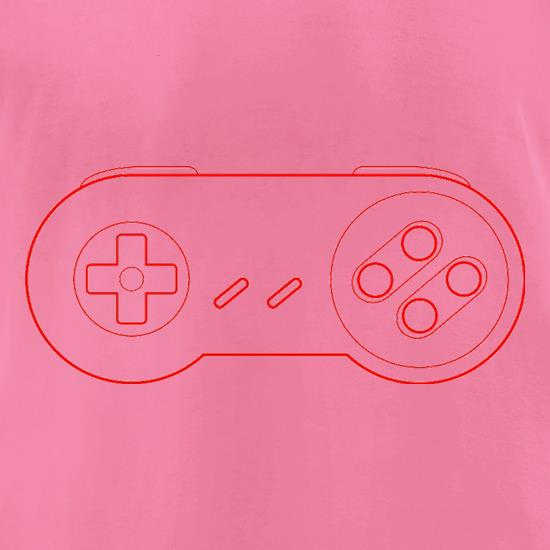 SNES Joypad t-shirts for ladies