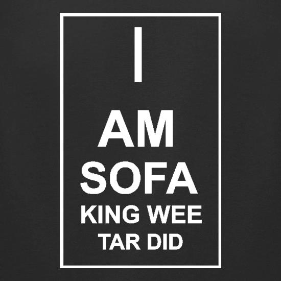 I  am sofa king wee tar did t-shirts for ladies