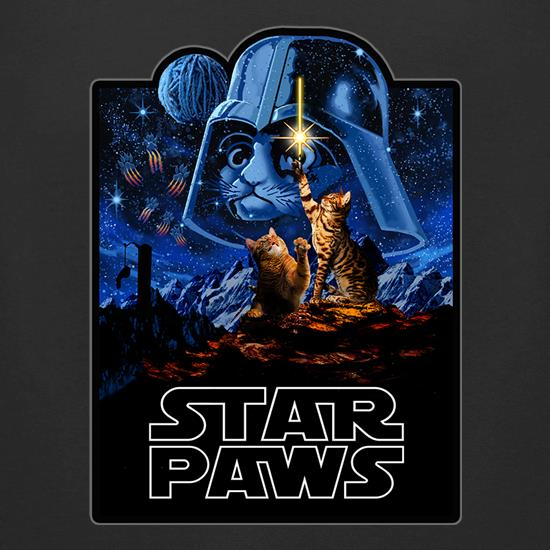 Star Paws t-shirts for ladies