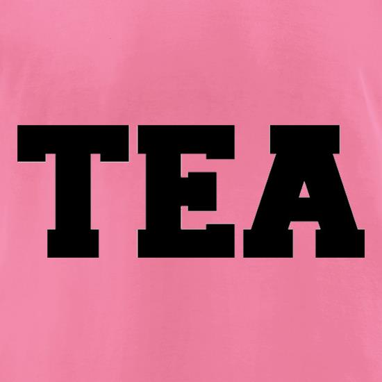 Tea t-shirts for ladies