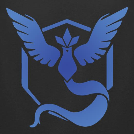 Team Mystic t-shirts for ladies