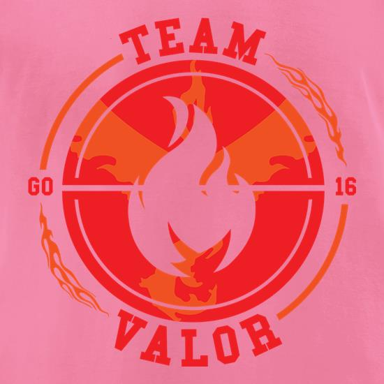 Team Valor GO t-shirts for ladies