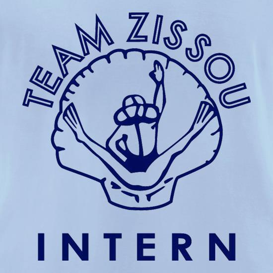 Team Zissou Intern t-shirts for ladies