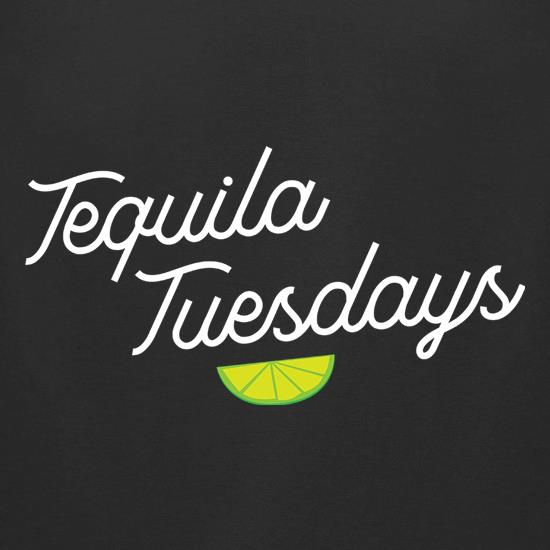 Tequila Tuesdays t-shirts for ladies