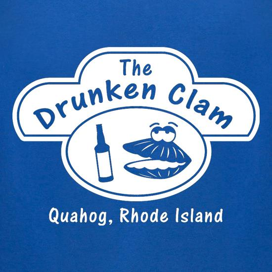 The Drunken Clam t-shirts for ladies