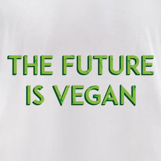 The Future Is Vegan t-shirts for ladies