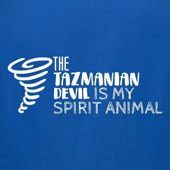 The Tazmanian Devil Is My Spirit Animal t-shirts for ladies