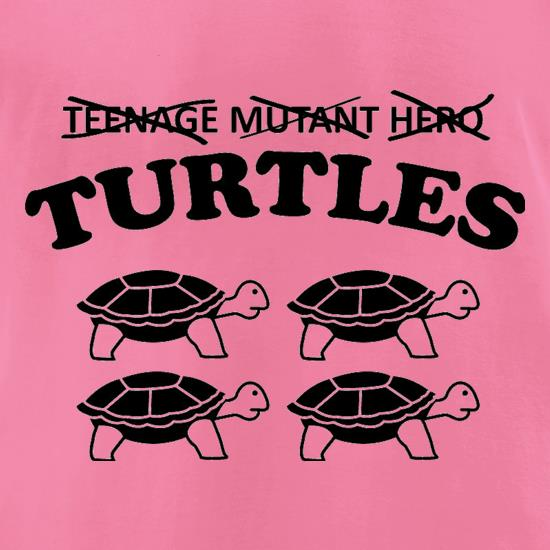 Turtles t-shirts for ladies