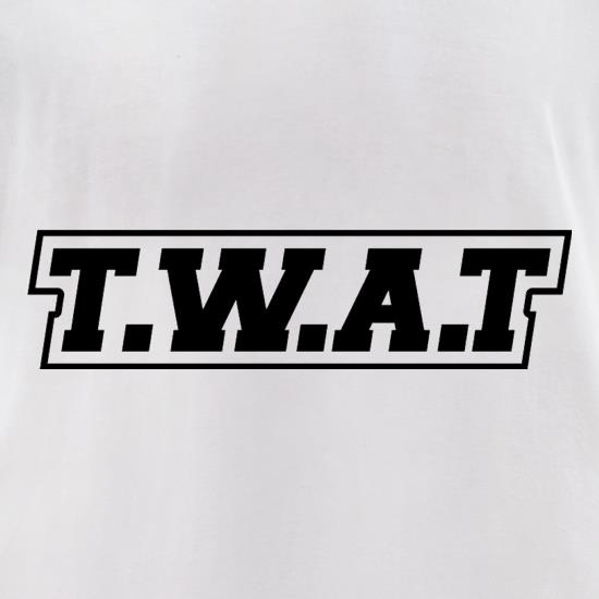 T.W.A.T t-shirts for ladies