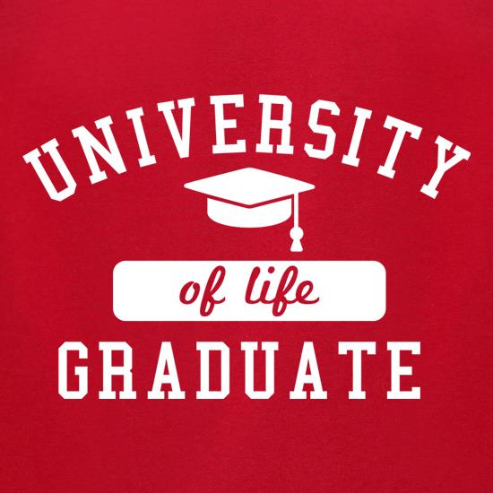 University Of Life Graduate t-shirts for ladies