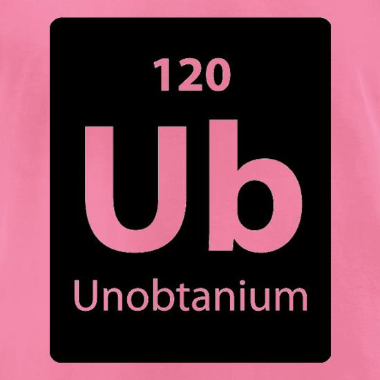 Unobtanium t-shirts for ladies