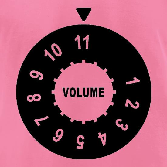Up To Eleven t-shirts for ladies