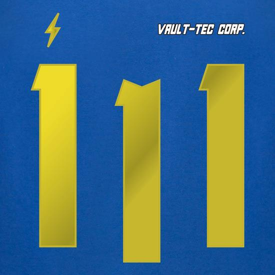Vault 111 t-shirts for ladies