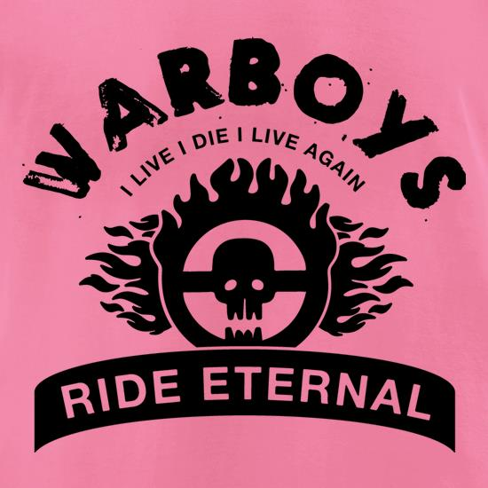 Warboys : I Live I Die I Live Again t-shirts for ladies