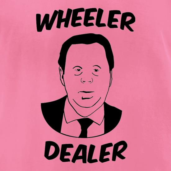 Harry Redknapp Wheeler Dealer t-shirts for ladies