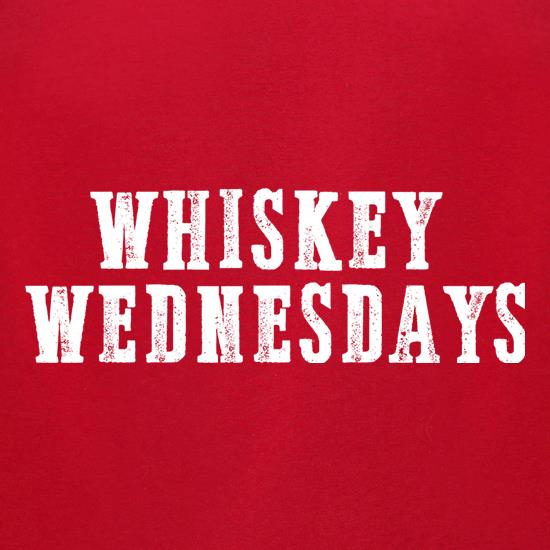 Whiskey Wednesdays t-shirts for ladies