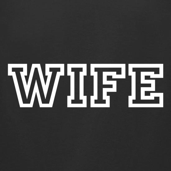 WIFE t-shirts for ladies