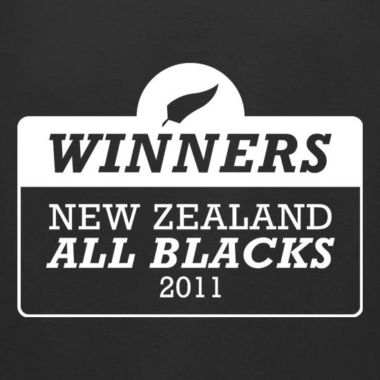 Winners New Zealand All Blacks t-shirts for ladies