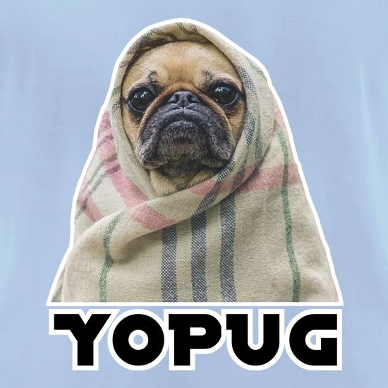 YoPug t-shirts for ladies